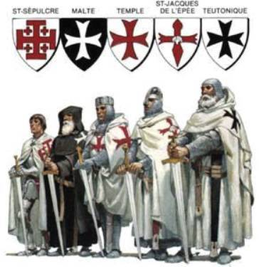 Medieval Knights Ordens