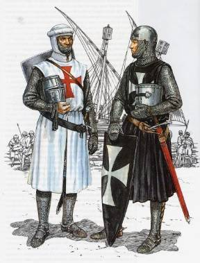 Two Templars reconstruction