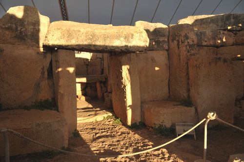 Winter Solstice at Mnajdra prehistoric temples
